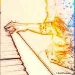 Sketch Effect Of The Piano Teacher